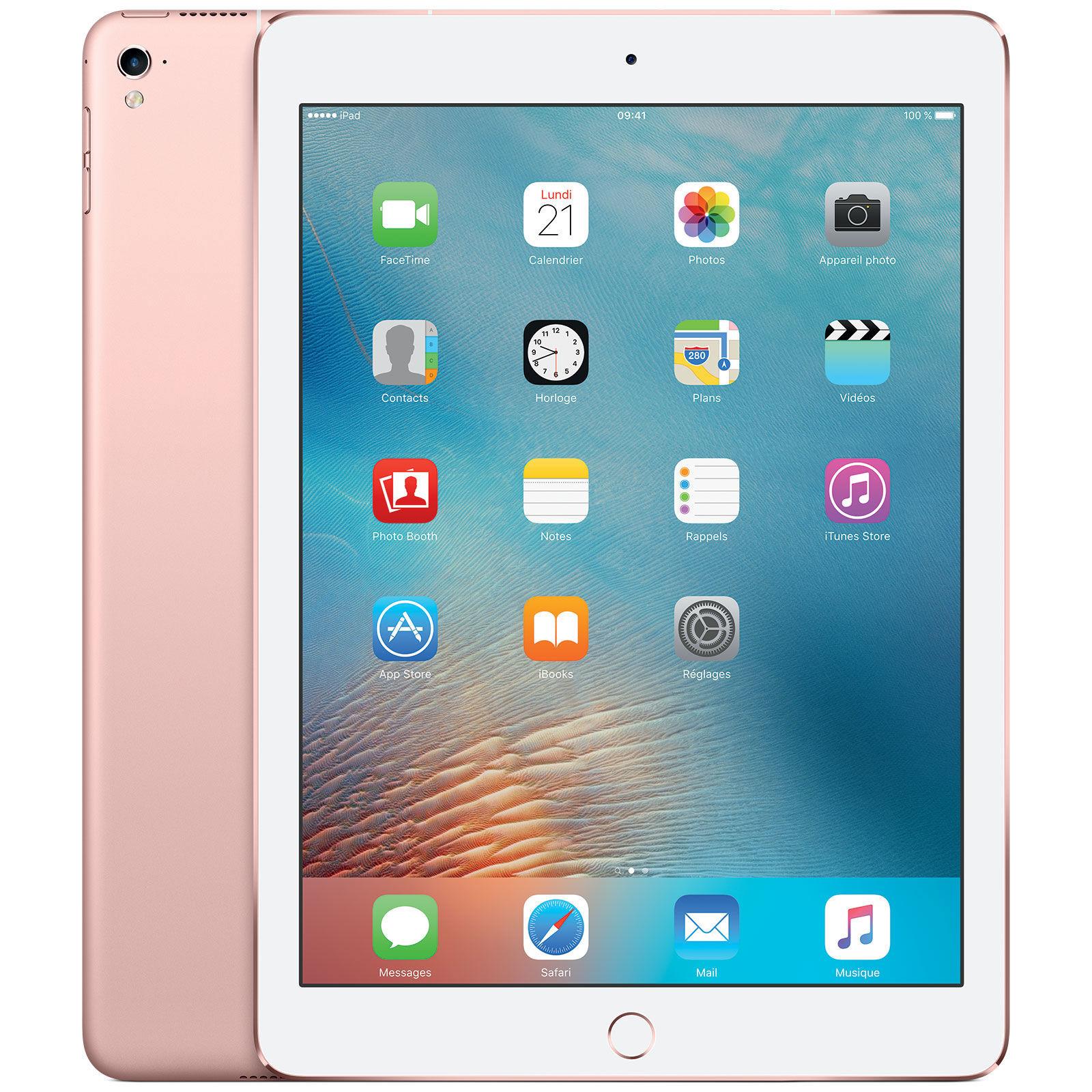 iPad Pro 9,7'' Retina - 32 Go - Wifi - Or Rose