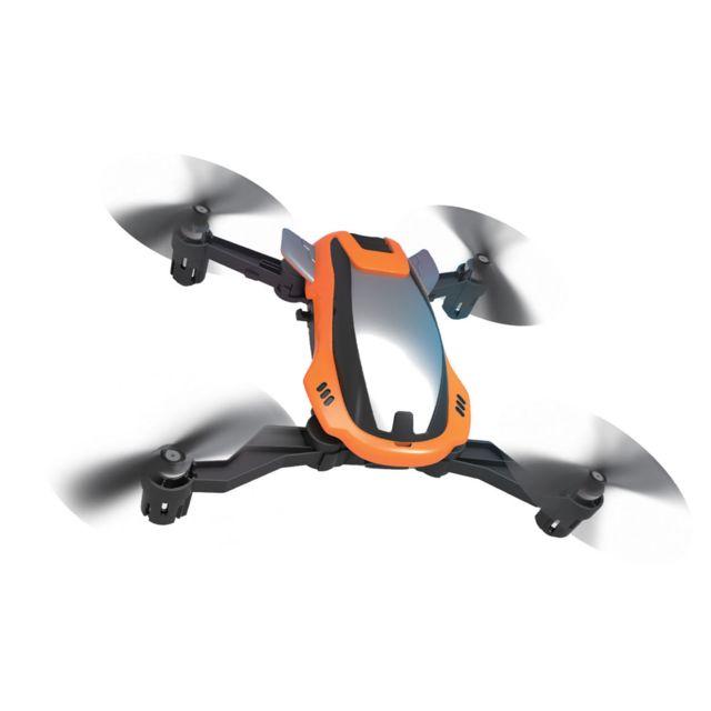 IRDRONE Drone Flash Racing - X49A Un drone orienté racing. Fourni avec 3 coques supplémentaires interchangeables. Une vitesse de pointe de 70 km/h. Pliable, il se glisse dans toutes les poches.
