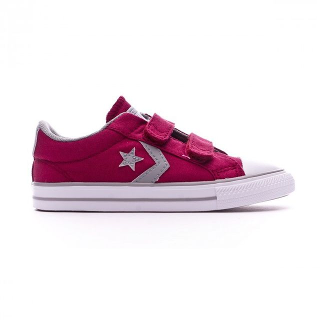 Converse Star Taille Ox Rhubarb Player Dolphin 2v Jr Basket White Tr7wqRFT