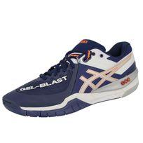 Asics - Gel Blast 6 Chaussures de Handball Homme Blanc Bleu
