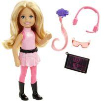 Mattel - Poupée Barbie Junior : Poupée Agent secret Chelsea