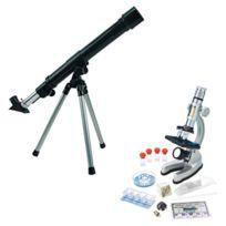 Microplanet - Télescope et microscope
