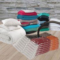 ProBache - Lot de 7 sacs housses de rangement sous vide spécial vêtements couettes et voyages