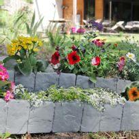 Bordures jardin pierre achat bordures jardin pierre pas cher rue du commerce - Bordure jardin imitation pierre ...