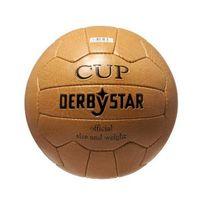 Derbystar - Nostalgieball Cup Ballon de football Marron Taille 5