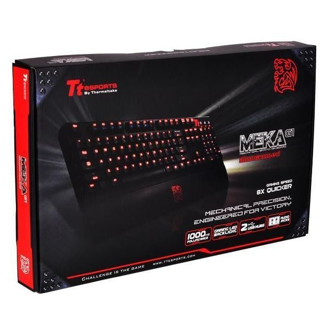 TteSPORTS By Thermaltake - MEKA G1 Black Edition