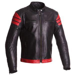 Veste en cuir moto homme pas cher