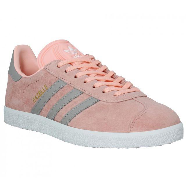 Adidas - Gazelle Femme-38 2/3-Coral Rose - pas cher Achat ...