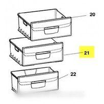 Indesit - Ensemble tiroir intermediaire c70 pour réfrigérateur