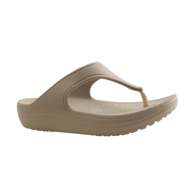 e1ce3a8e01f6 Crocs - Europe Bv-sloane-tong-gris - pas cher Achat   Vente Mules ...