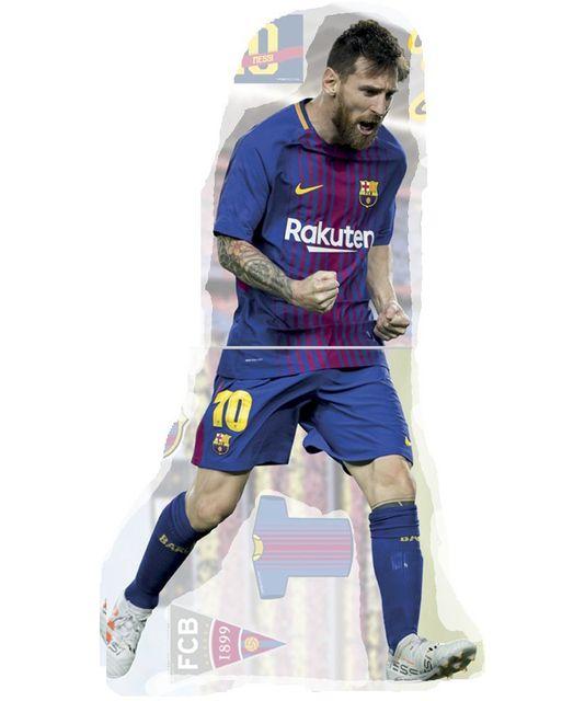 Bebe Gavroche Sticker Lionel Messi Fc Barcelone 52 Cm Pas Cher