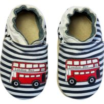 Rose Et Chocolat - Chaussures en cuir Rcc 181 0612-20/21 London Bus Stripes Navy