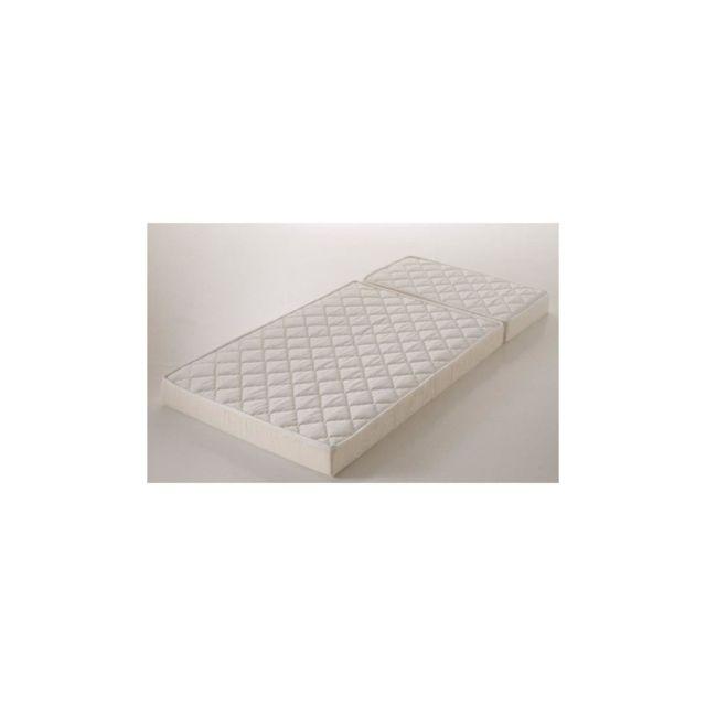 Confort Design Evolutif Matelas 90x190 Cm - Mousse - Ferme - 25kg/m3 - 1 Personne