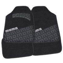 Momo - Cm008BG - Tapis moquette noir/gris