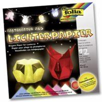 ToyCentre - Folia 42309 - Lichterpapier 80G,30 X 30 Cm 12 Blatt 6 Farbig Sortiert