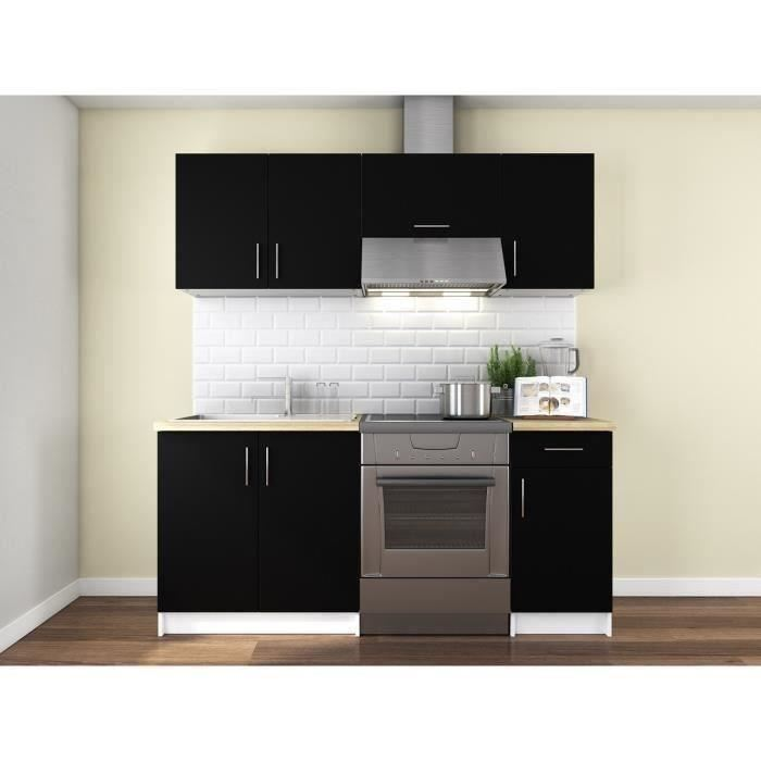 usines discount obi cuisine complete 1m80 gris mat pas cher achat vente meubles de. Black Bedroom Furniture Sets. Home Design Ideas