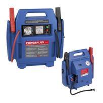 Powerplus - Démarreur Booster De Batterie Multi-Usages avec Dispositif Demarrage Rapide