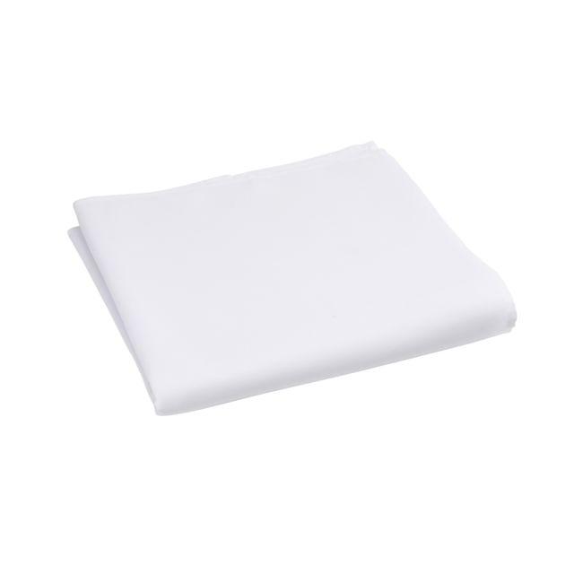 MARQUE GENERIQUE Nappe carrée UNI en polyester Nappe carrée 150x150 cm UNI en polyester - blanc