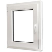 Rocambolesk - Superbe Fenêtre oscillo-battant en Pvc Poignée sur la droite 600 x 800 mm Neuf