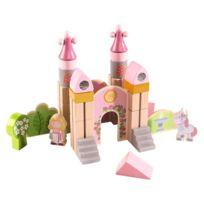Haba - Blocs de construction en bois : Petit chateau