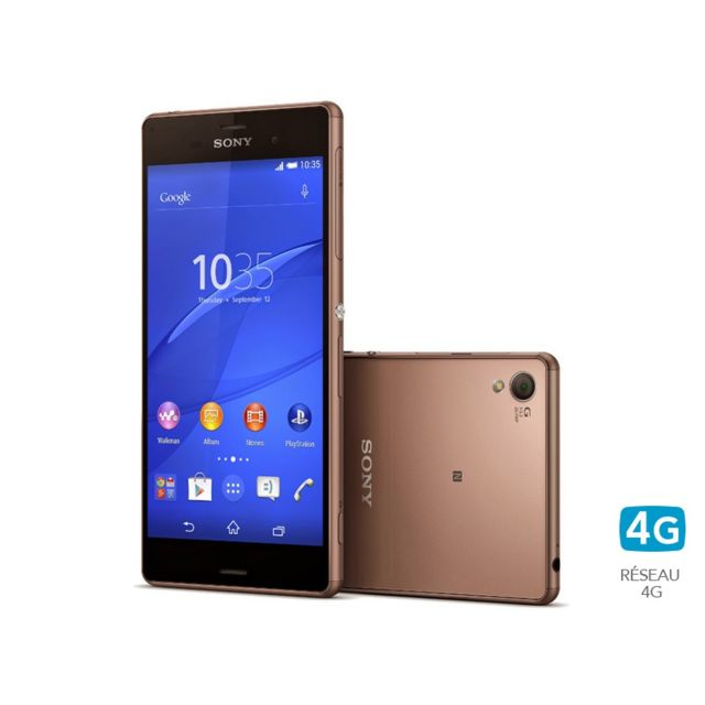 destockage sony xperia z3 bronze pas cher achat vente smartphone rueducommerce. Black Bedroom Furniture Sets. Home Design Ideas