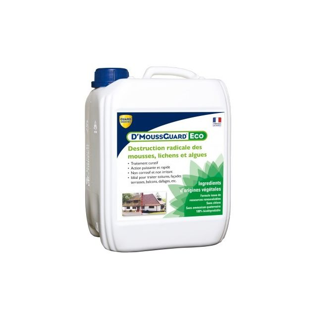 Guard Industrie - Antimousse Curatif - D'mouss Guard Eco 5L