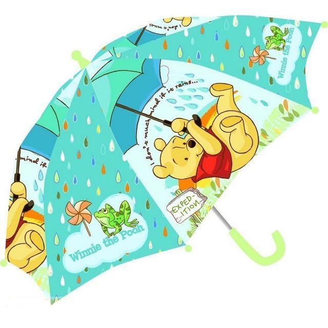 winnie l 39 ourson parapluie bleu pas cher achat vente parapluies rueducommerce. Black Bedroom Furniture Sets. Home Design Ideas