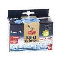 Ecodis - Balles De Lavage Anti-calcaire Pack De 6
