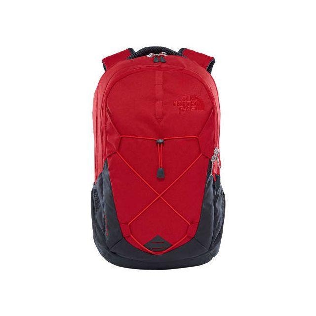 90063bd1fd The north face - Sac à dos Jester 26L rouge gris Multicolour - pas ...
