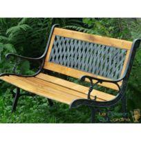 Banc Vintage En Fer Et En Bois Pour Votre Jardin, Terrasse Ou Balcon