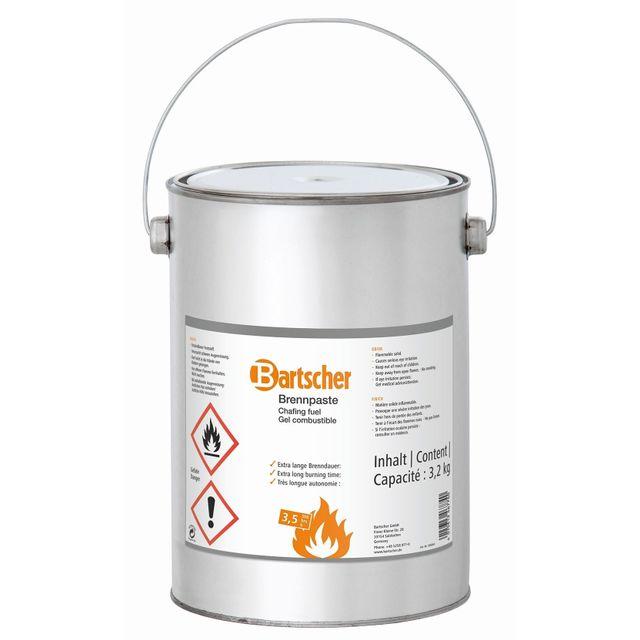 Bartscher gel combustible, seau de reserve