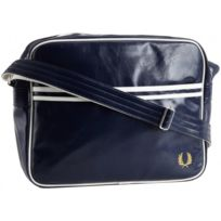 Fred Perry - Sac besace Messenger - Navy Bleu, Unique