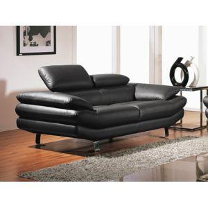 la maison du canap canap cuir 2 places carlton cuir. Black Bedroom Furniture Sets. Home Design Ideas