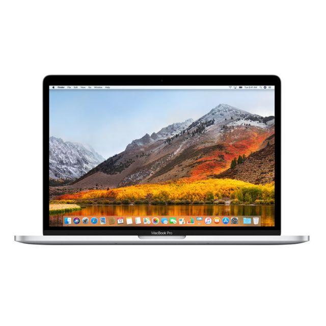 APPLE - MacBook Pro 13 - 256 Go - MLUQ2FN/A - Argent