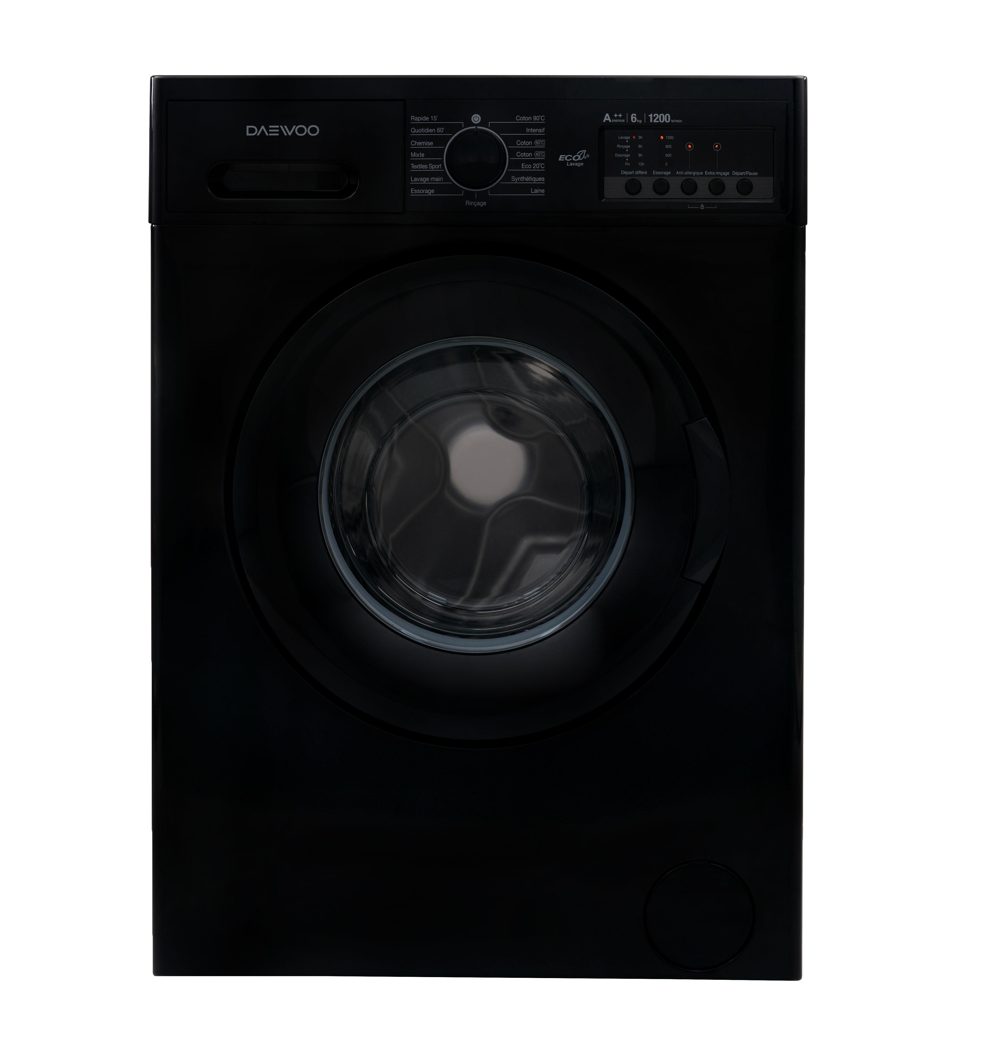 Lave-linge - DWD-MV122K - Noir