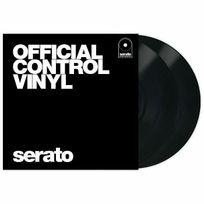Serato - Black 12¨.Vinyl controle tone scratch live noir. la paire