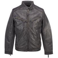 Acheter veste cuir rome