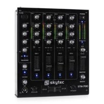 Skytec - Stm-7010 Table de mixage Dj 4 canaux Usb Mp3 Eq