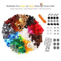 Enfants Jouet Briques Compatible Marques Avec Educatif Toutes Jeux De Pièces 450 Cadeau Diy Pour Construction Jeu 0wNnm8