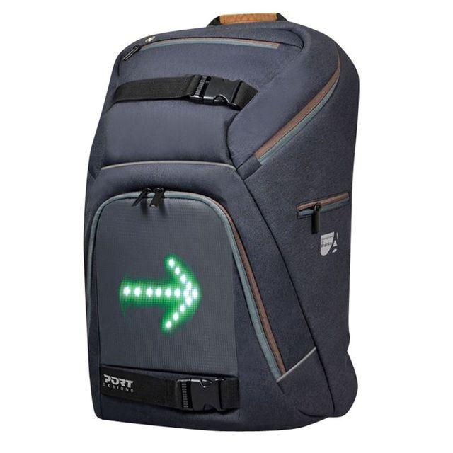 b1e3ee1907 PORT DESIGNS - Sac à dos pour ordinateur portable 15,6 Pouces et tablette 10