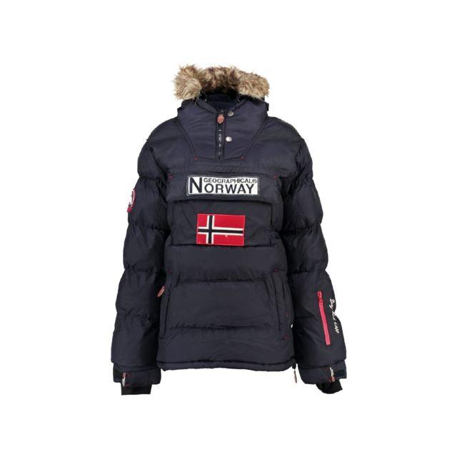 d2f04bec35217 Nos packs de l'expert. Geographical Norway - Parka Femme Bianca Marine