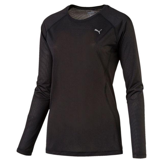 Puma T shirt femme manches longues Running Core Run pas