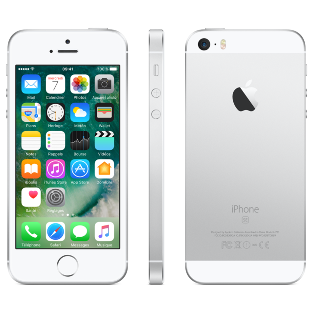APPLE - iPhone SE - 64 Go - MLM72F/A - Argent
