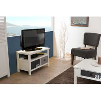 meuble tv longueur 80 cm achat meuble tv longueur 80 cm pas cher rue du commerce. Black Bedroom Furniture Sets. Home Design Ideas