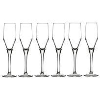 Reception - Lot de 6 Flûtes a champagne Reverie 21 cl