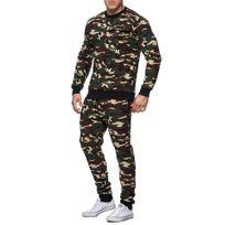 Marque Generique - Survêtement camo fashion homme Sweat et jogging 661 vert