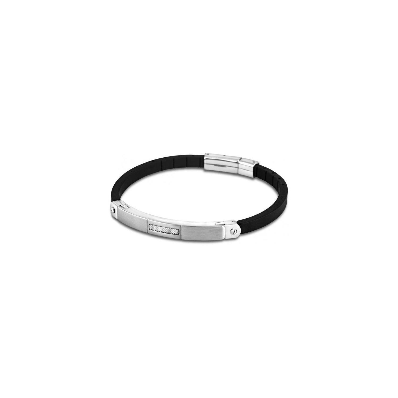8732ca5d261 LOTUS- Promo Bracelet Men In Black Ls1731-2-1 - Bracelet Cuir Noir