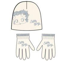 Betty Boop - Set Bonnet - Gants enfant
