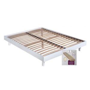 essenzia sommier kit spot blanc 140x190 140cm x 190cm pas cher achat vente sommiers. Black Bedroom Furniture Sets. Home Design Ideas