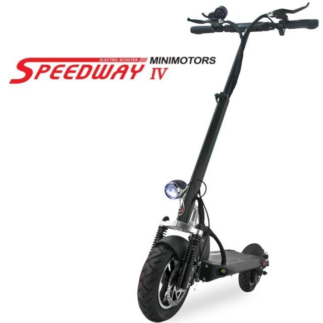 minimotors trottinette patinette lectrique speedway 4. Black Bedroom Furniture Sets. Home Design Ideas